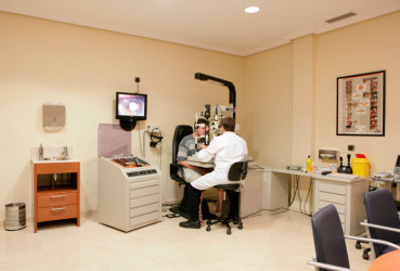 Optometry Consultation Room