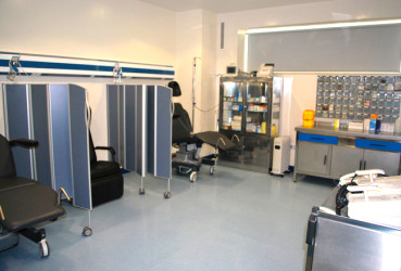 Recovery and pre anaesthetic room